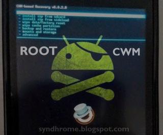 Root dan Install CWM Himax Polymer Octa Core | Ini Cara Nya!